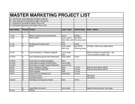 Sle Task List Template 28 Images Task List Sle Best Resumes Weekly Task List Template Excel Sle Project Plan Template