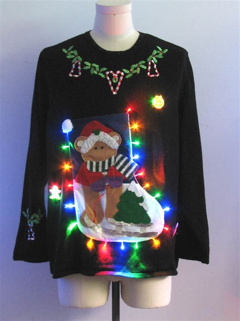Sweater Led by Multicolor Lightup Sweater Designer