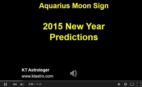 astrology kumba rasi aquarius 2015 new year predictions
