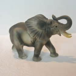 elephant figurines ceramic african elephant figurine from dorothysbling on ruby lane