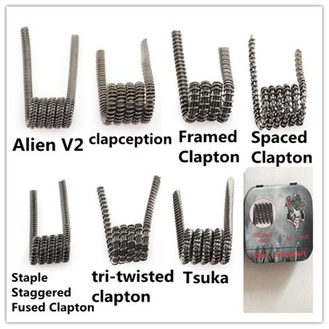 Jual Coil Vape Terbaik by Newest Vape Coil V2 Tsuka Spaced Tri Twisted Framed