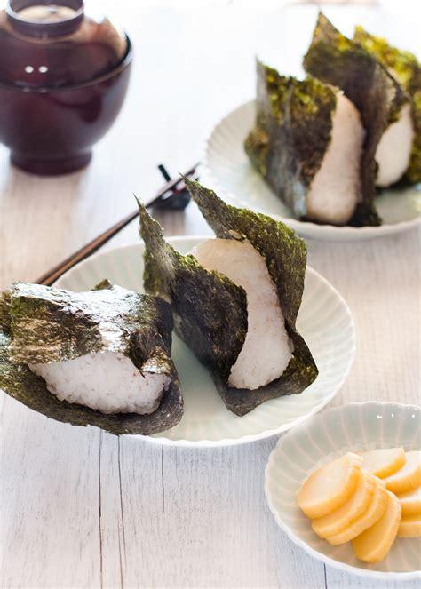 onigiri japanese rice ball recipetin japan
