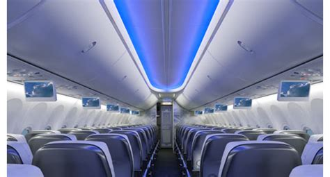 Thomson 737 800 Cabin by Airlinetrends 187 Boeing Uses 787 Dreamliner Cabin Design To