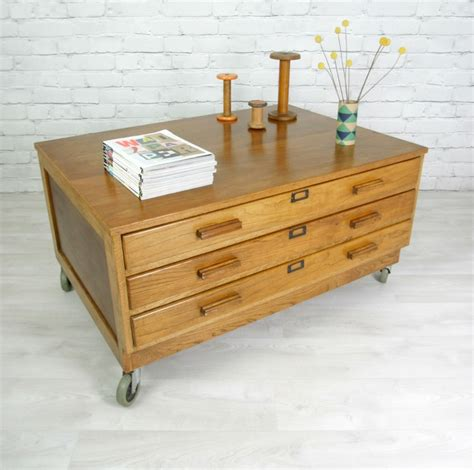 Architects Drawers by Top 44 Ideas About Coffee Tables On Ebay