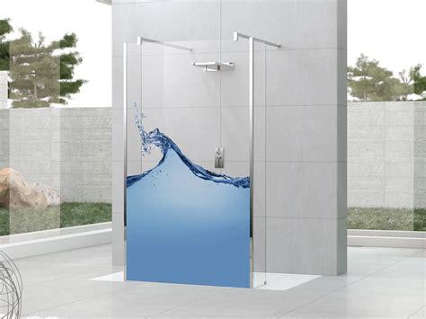 glass wall panels bathroom artistic glass shower wall panel decor ideas