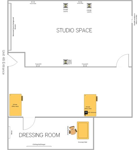 Dreamplan Home Design Software 1 42 by 100 Photography Studio Floor Plans The Rose South