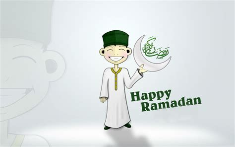 Happy Ramadan 3D Wallpaper   Funonsite