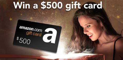 Win A 500 Amazon Gift Card - free win a 500 amazon gift card take it freebies com au