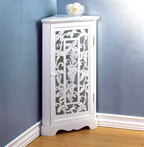 White Corner Cabinet Bathroom by Bathroom Corner Cabinet