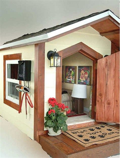 dog house inside awesome dog house if i redecorate pinterest