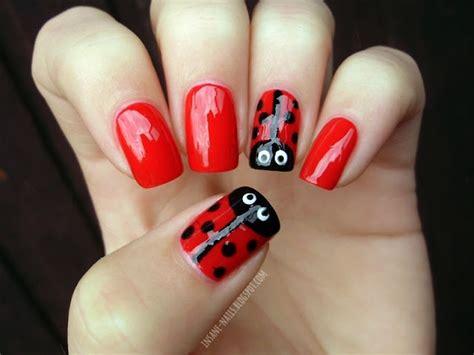 Nägel Lackieren Tricks by Ladybug Nails Insanenails