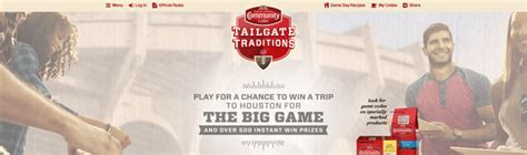 Tailgate Traditions Sweepstakes - tailgatetraditions com community coffee tailgate traditions instant win game
