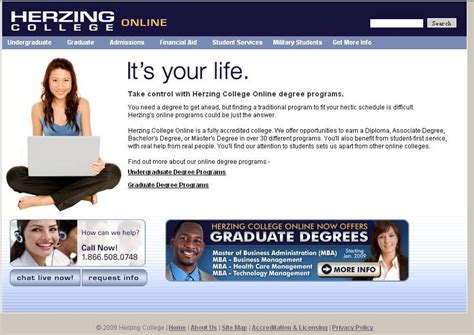 Cost Of Mba At Southeastern by Herzing College Degrees Reviews Tuition
