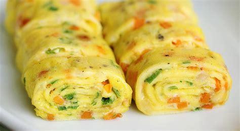 membuat nasi gulung telur resep nasi kepal telur gulung okezone lifestyle