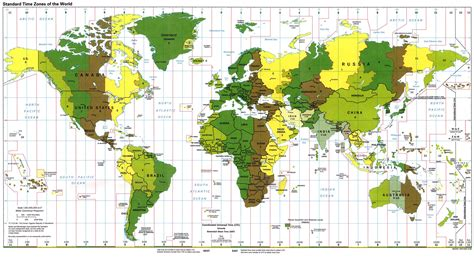 world time zones map world time zone map quireza spain mappery