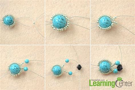 how to make beaded rings how to make turquoise beaded rings with wire in five