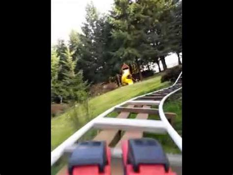 backyard pvc roller coaster pov byrc 3d 02 smaug the terrible backyard roller