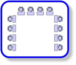 Horseshoe Classroom Layout Advantages | seat layouts