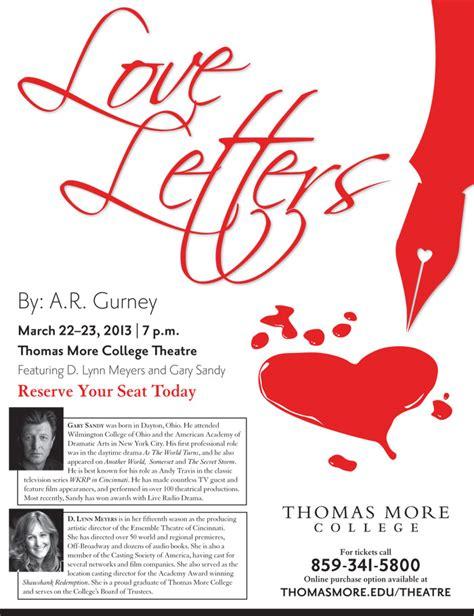 The Dining Room Ar Gurney by Love Letters Ar Gurney Letter Sample