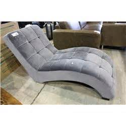 suede chaise lounge grey suede chaise lounge able auctions