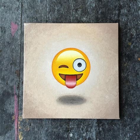 Painting Emoji by For The Past Year I Ve Been Painting Emoji Mike Sall