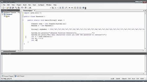 java tutorial random java tutorial 11 program random password generator