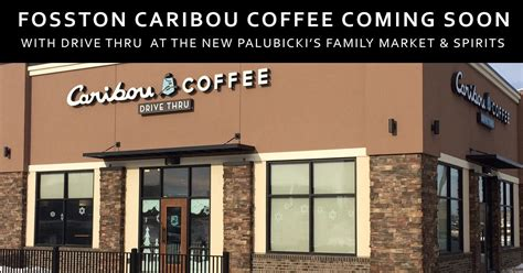 Caribou Coffee Mba Internship by Fosston Caribou Coffee With Drive Thru On Hwy 2 Mn
