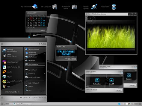 invi 4x for windows xp themes for pc invi xt win blind for xp themes for pc