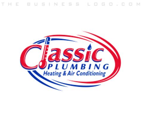 Classic Plumbing And Heating by Heating Air Conditioning Cooling Plumbing Hvac Logos