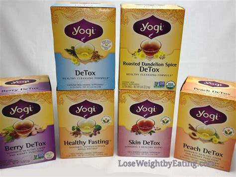 Yogi Detox Tea Acne by Detox Tea For Weight Loss And Beautiful Skin