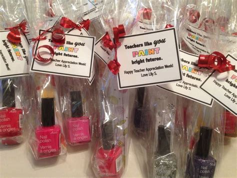Daycare Gift Ideas - appreciation gifts for daycare teachers nail