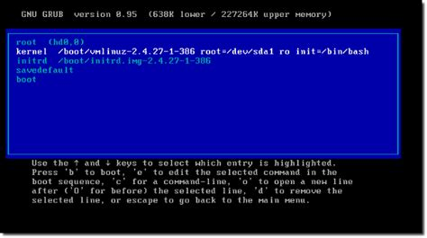 reset windows password grub how to recover linux grub boot loader password nixcraft