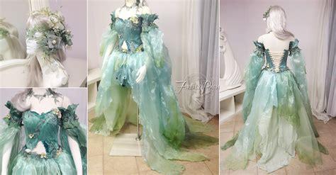 Fairism Dress seafoam dress by lillyxandra on deviantart