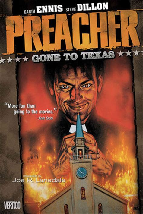 Preacher Book Three By Garth Graphic Novel Review Preacher The Unbound Bibliophile