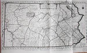 Pennsylvania Colony Map by Map Of Colonial Pennsylvania Bing Images
