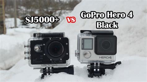 sj5000 plus sj5000 vs gopro 4 black