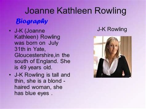 biography jk rowling in english joanne k rowling charakteres story personal opinion