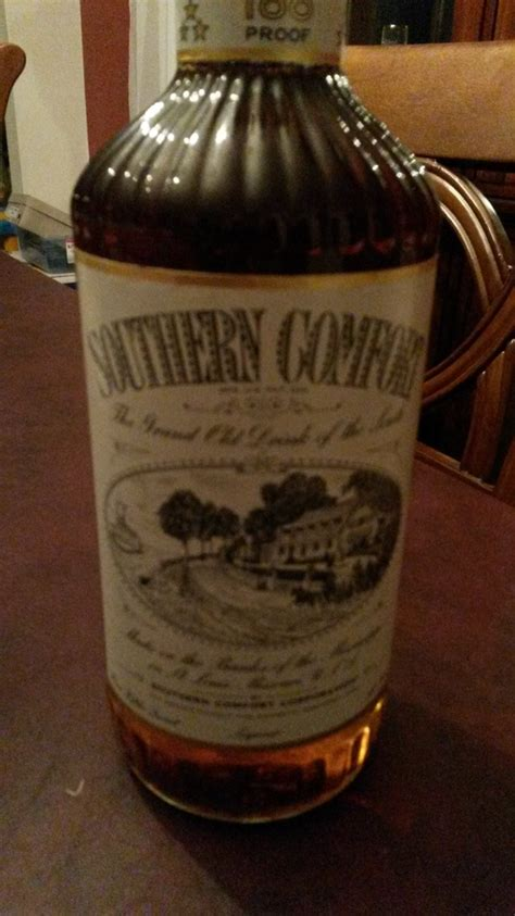southern comfort old bottle i have an old bottle of southern comfort any idea its