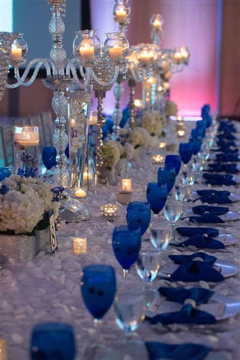 blue outdoor decorations best 25 royal blue wedding decorations ideas on