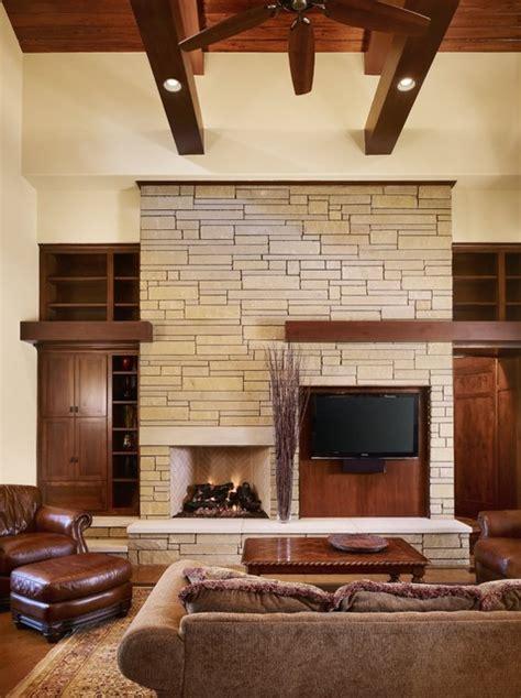 rocky river living craftsman living room austin