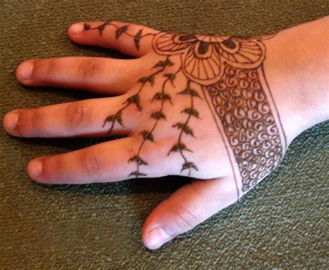 henna tattoo designs for child ideas simple henna designs for for
