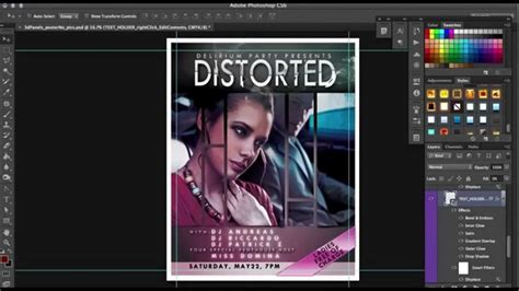 layout poster photoshop how to movie poster template for photoshop tutorial by