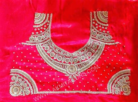 Lakmi Ladies Tailors Ready Made Hand Embroidery Blouses