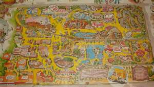 knott s berry farm 1976 park map