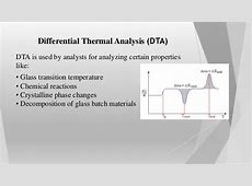 Differential thermal analysis Endothermic And Exothermic Reactions Temperature Change