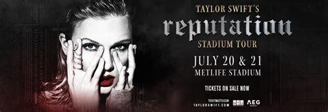 taylor swift reputation tour east rutherford nj jul 21