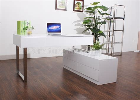 modern white office desk kd12 modern office desk by j m in white lacquer