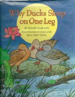 sleepover duck books why ducks sleep on one leg by sherry garland reviews