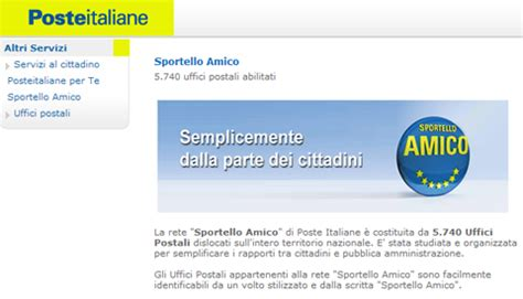 sportello amico permesso di soggiorno poste sul web 187 poste italiane servizi pi 249 facili con lo