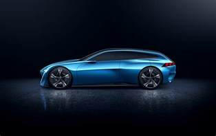 Peugeot Concept Peugeot S Instinct Concept Car Is Its Vision Of An